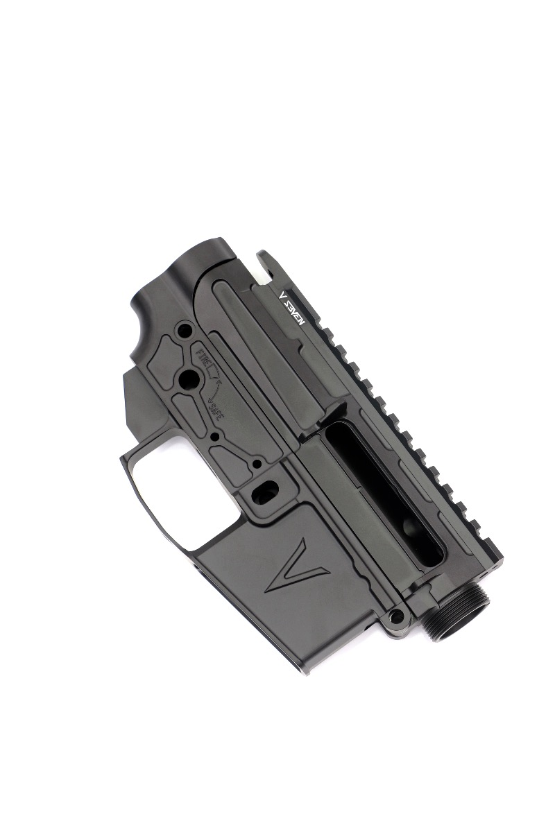 7075 LR ENLIGHTENED AR-15 RECEIVER SET