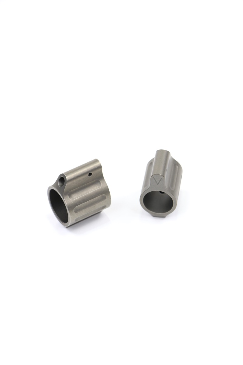 TITANIUM PIN-ON GAS BLOCKS
