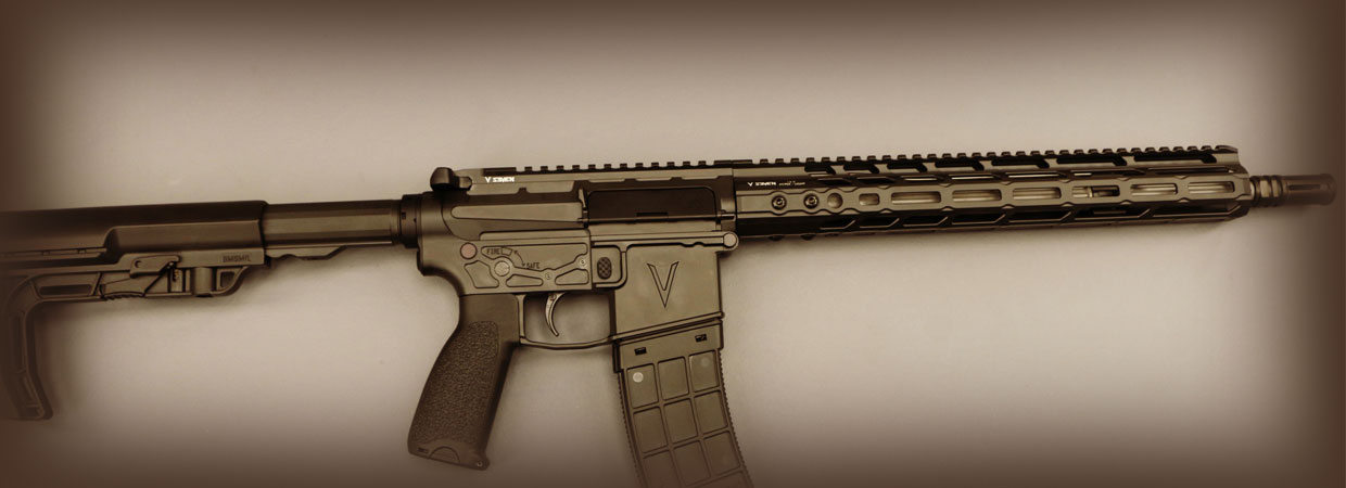 "14.5"" LR Enlightened AR15 Rifle"